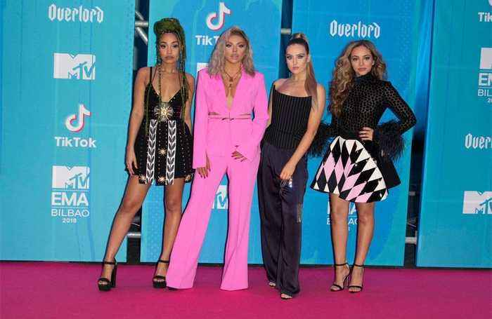 Little Mix couldn't believe Nicki Minaj EMAs Performance