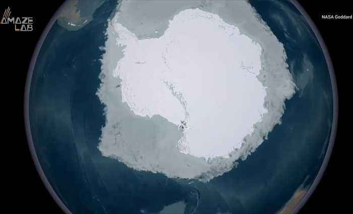 Long-Lost Continents Discovered Under Antarctica's Ice