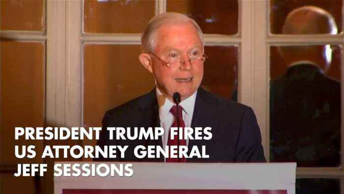 Trump Tells AG Jeff Sessions To Pack His Bags