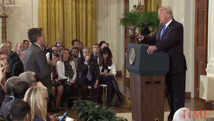 Full Exchange of President Trump's Clash With CNN's Jim Acosta