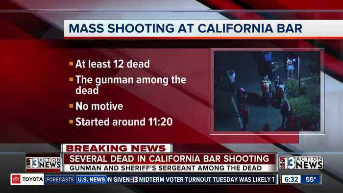California bar shooting has similarities to 1 October mass shooting in Las Vegas