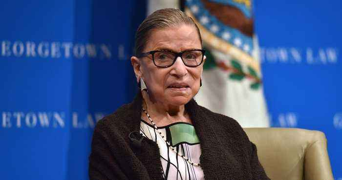 Supreme Court Justice Ruth Bader Ginsburg Hospitalized After Fracturing Ribs in Fall