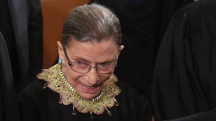 A Look at Justice Ruth Bader Ginsburg's Health History