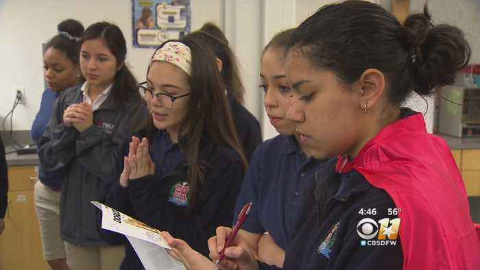 Girls-Only Team From Fort Worth's Young Women's Leadership Academy Set To Battle