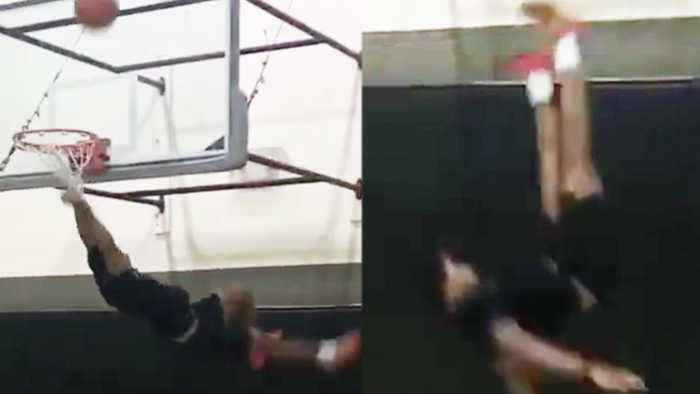 Jalen Ramsey Almost Dies After Failed Dunk Attempt Goes Horribly Wrong