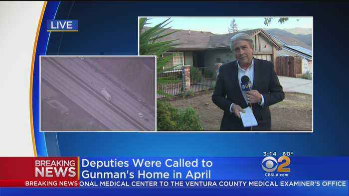 Deputies Were Called To Thousand Oaks Gunman's Home In April