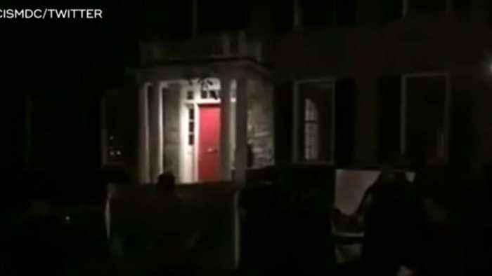 Fox News host Tucker Carlson's house targeted by protestors