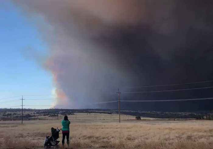 Camp Fire Forces Evacuations in Northern California Towns