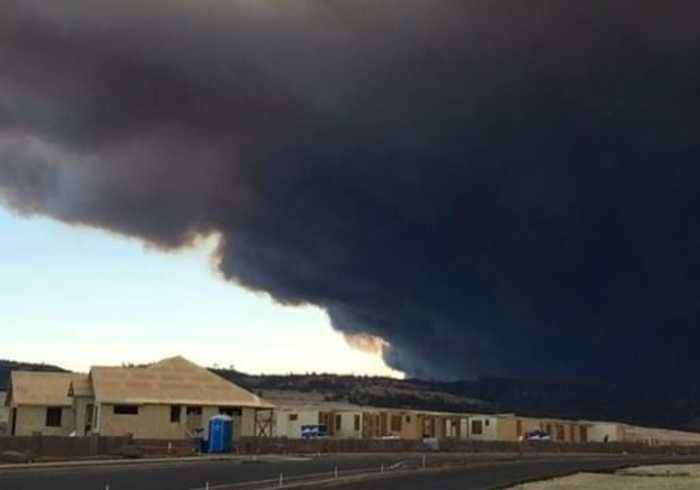 Winds Feed Rapid Expansion of Northern California Fire
