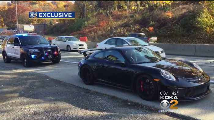 Steelers' WR Antonio Brown Cited For Going 100-Plus MPH On McKnight Road