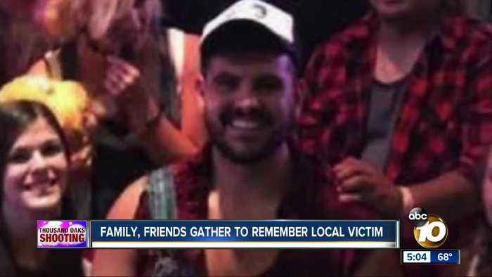 Family, friends gather to remember local Thousand Oaks shooting victim