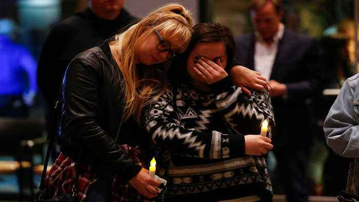 'We are a hurting city': Mourners gather to remember victims of California bar shooting