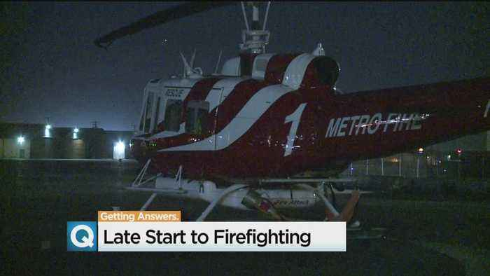 End Of Daylight Saving Time, Shorter Days Limit California Aerial Firefighting