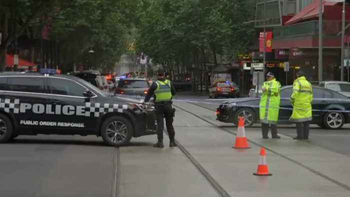 Attack by knife-wielding man in Melbourne believed to linked to terrorism