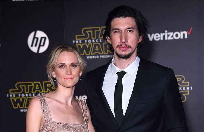Adam Driver has secret son?