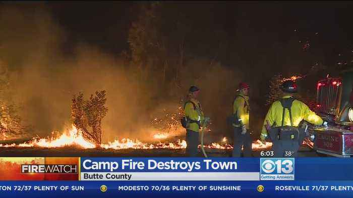 Camp Fire Destroys Northern California Town