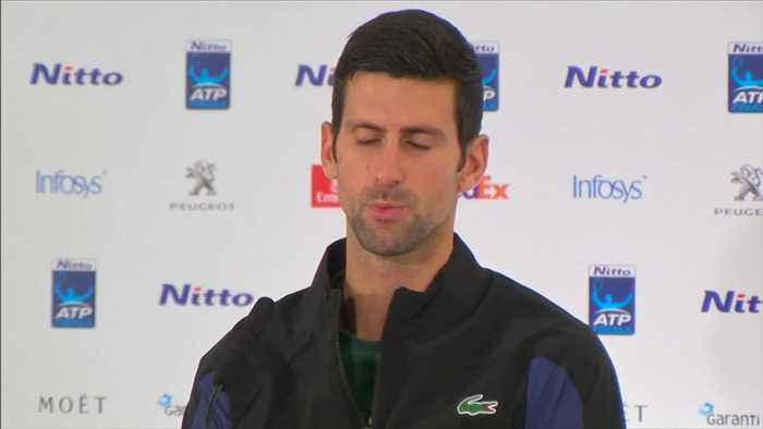 Djokovic relishes world number one spot ahead of ATP Finals