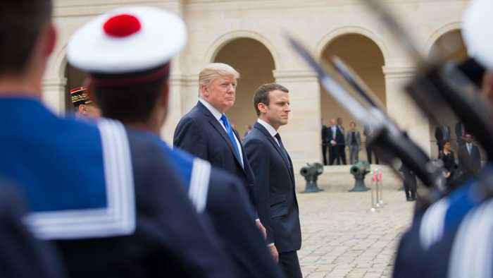 Trump And Macron Agree Europe Should Increase Its Defense Spending