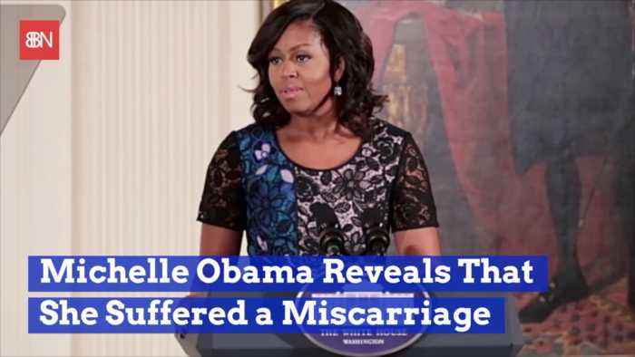 Michelle Obama's Book Reveals Miscarriage