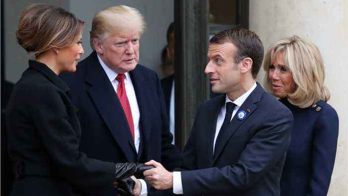 Trump Cancels WW1 Memorial At U.S. Cemetery In France Due to Rain
