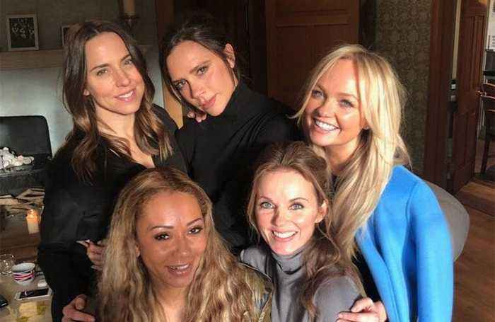 The Spice Girls ditch Girl Power
