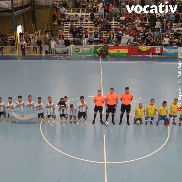 First International Dwarf Football Cup Tackles Discrimination Against Little People