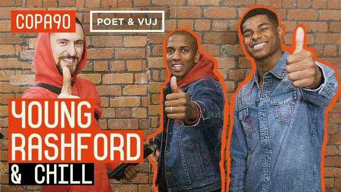 'Mata Could Play In Jeans!' | Chilling with Marcus Rashford & Ashley Young
