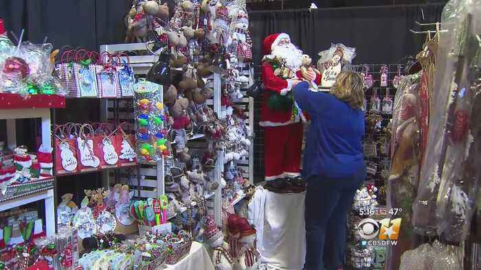 Christmas Market Opening In Fair Park