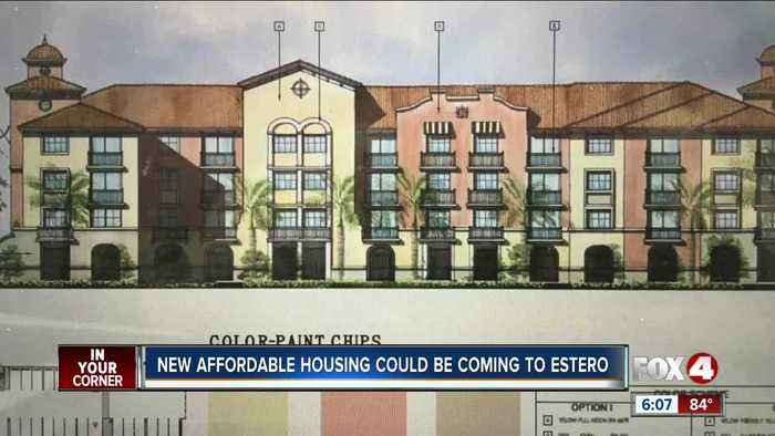 Estero reviews proposal for affordable apartments