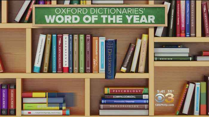'Toxic' Chosen As Oxford Dictionary Word Of The Year