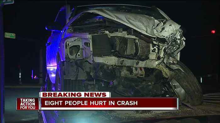 8 injured, 3 listed as trauma alerts in 'level 1 mass casualty' crash in Pasco County