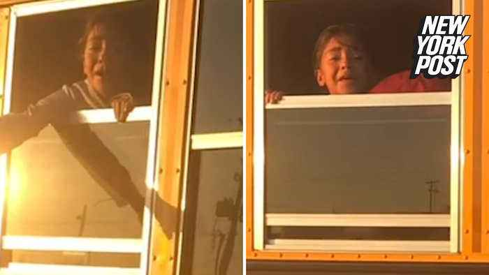 School bus driver terrorizes children by trapping them in bus