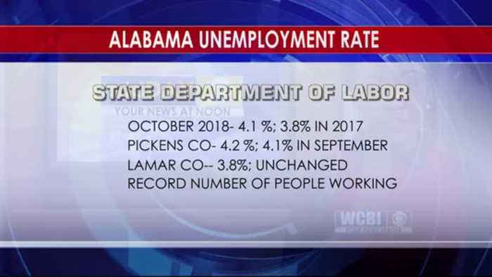 Alabama Unemployment 11/16/18