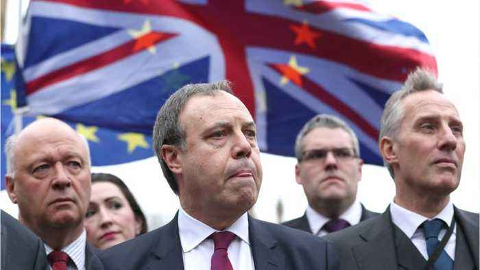 DUP's Dodds Says Time to Work For Better Brexit Deal