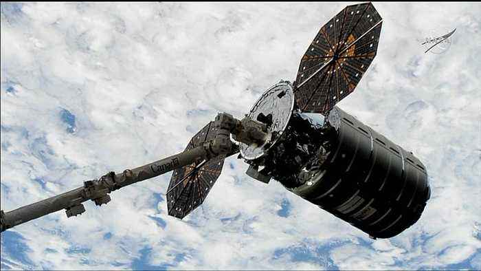 Cygnus cargo craft makes delivery to ISS
