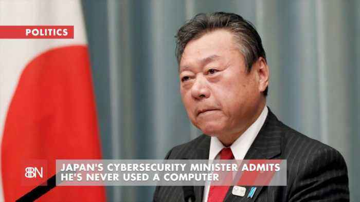Japan's Cyber Security Boss Never Used A Computer