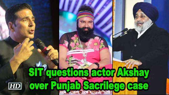 SIT questions actor Akshay Kumar over Punjab Sacrilege case