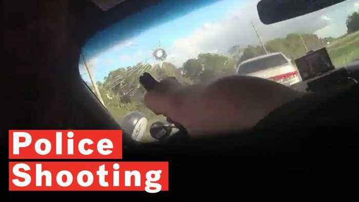 Police Officer Shoots Through Windscreen To Arrest Wanted Suspect