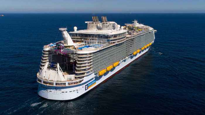 The World's Largest Cruise Ship Just Landed In Miami