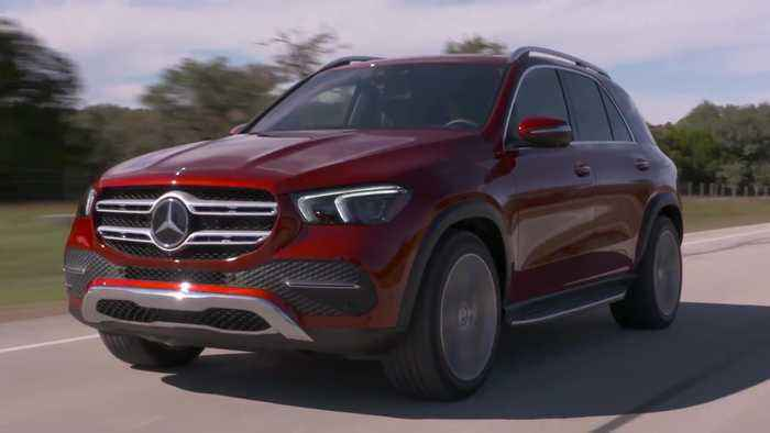 Mercedes Benz Gle 450 4matic In Hyacinth Red One News Page Video