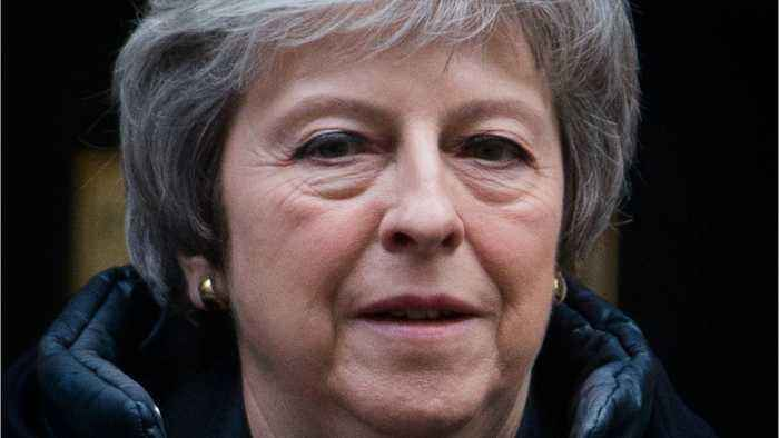 UK PM May To Address Parliament About Brexit Thursday