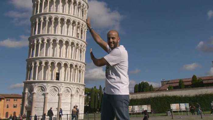 Leaning Tower of Pisa is leaning less these days