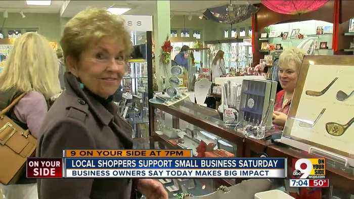 Shoppers find personalized gifts on Small Business Saturday