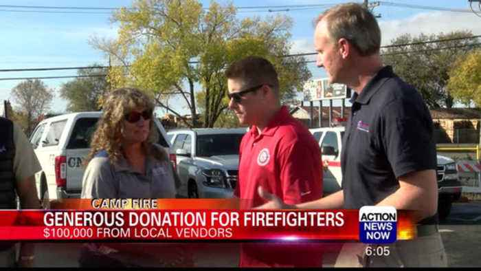 Displaced Firefighters Awarded $100K to 'Get Back on Feet'