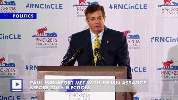 Paul Manafort Met With Julian Assange Before 2016 Election