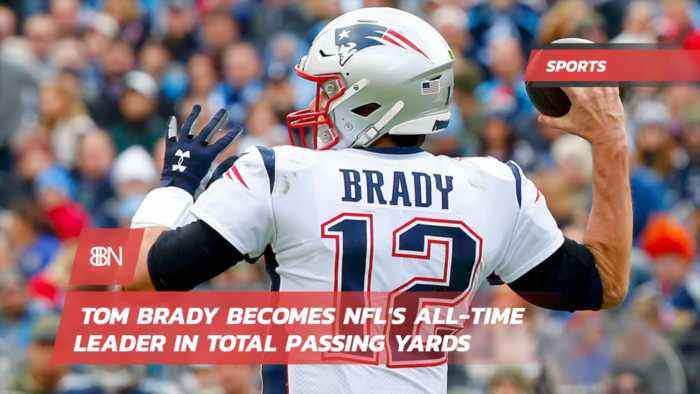 Tom Brady Is Now The All Time NFL Passing Leader