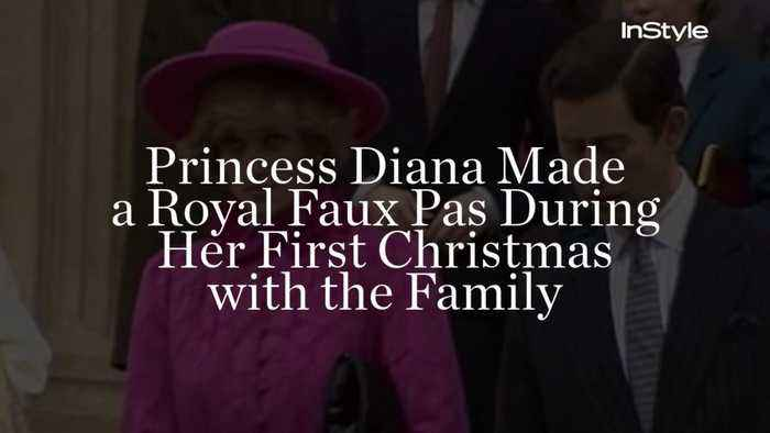 Princess Diana Made a Royal Faux Pas During Her First Christmas with the Family