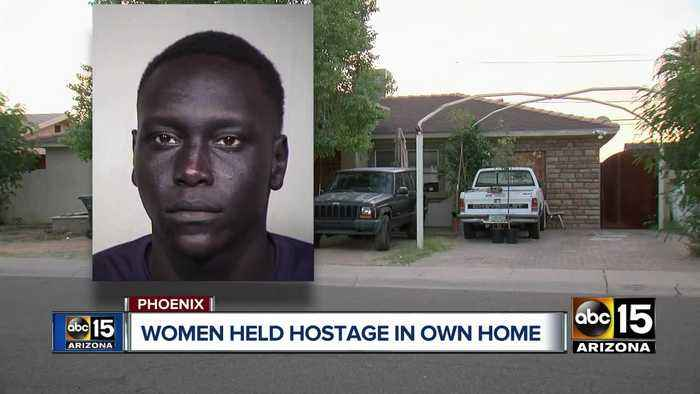 Phoenix women held hostage as armed suspect hides from police