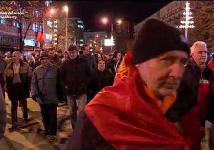 Thousands March to Demand Resignation of Macedonian Government Over Planned Name Change