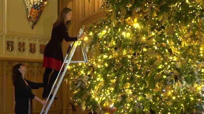 Christmas comes to Windsor Castle